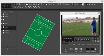 Colección de Herramientas de apoyo para el entrenador de fútbol. Tecnología y Fútbol.