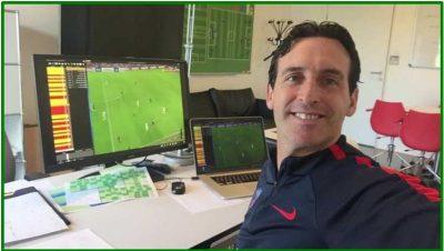 Unai Emery explica la importancia de la COMPETITIVIDAD en el Paris Saint-Germain