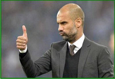 Pep Guardiola Ok