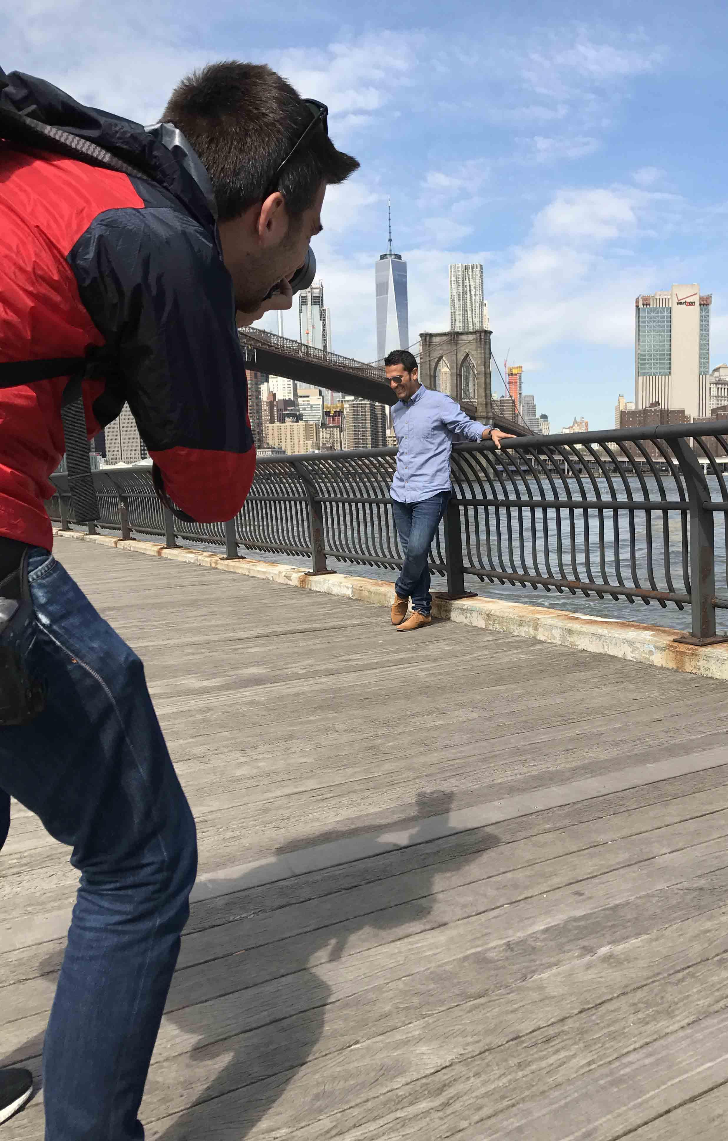Sesión Fotos Manhattan. Johnny Vacar