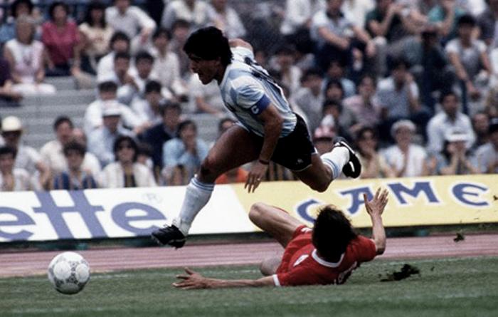 Diego Armando Maradona. Selección Argentina. Más info en www.tonimatasbarcelo.com