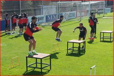Entrenamiento Fuerza Atlético de Madrid