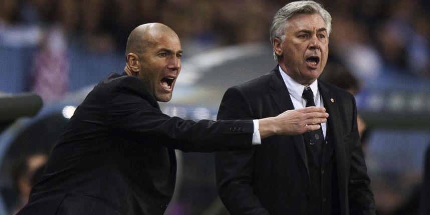 Zidane. Entrenador Banquillo Táctica