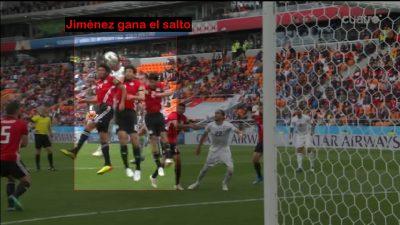 Análisis del Gol de Jiménez en el partido Uruguay 1 – Egipto 0. Mundial 2018 Rusia