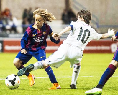 Fútbol Base. Fútbol Formativo. FC Barcelona y Real Madrid
