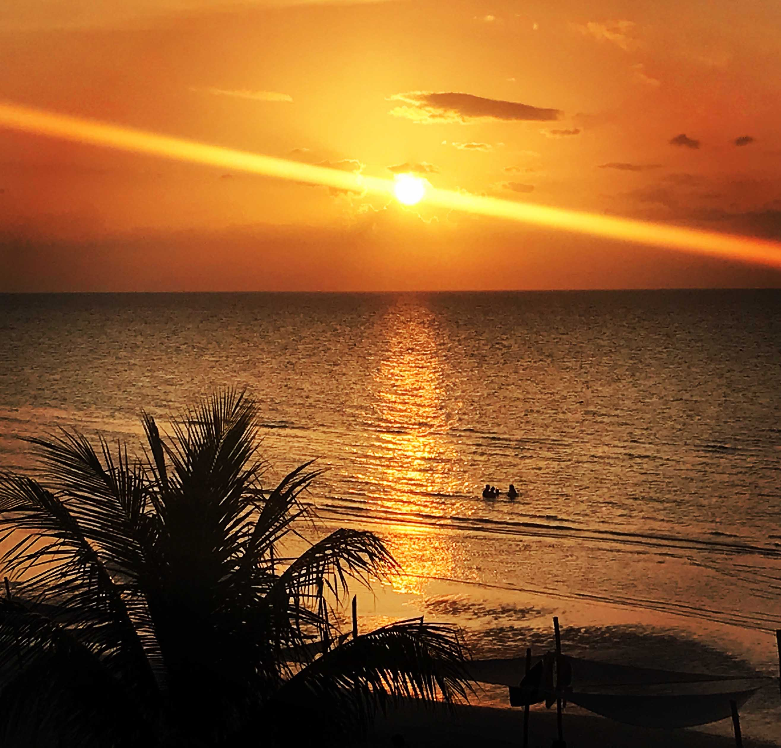 Skybar Alma Bar. Mejores vistas sobre la puesta de sol en Isla Holbox