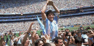 Maradona: la carta pública que escribió tras ganar el Mundial de México 86