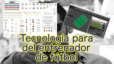 Colección de 8 Herramientas de apoyo para el entrenador de fútbol. Tecnología y Fútbol.