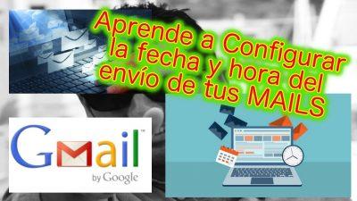 Mails Programados. Configura Configurar la Fecha/Hora del envío de tus mails.